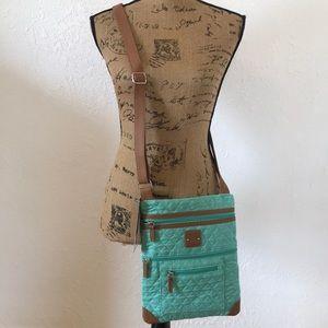 NWT Stone Mountain Teal Crossbody Bag